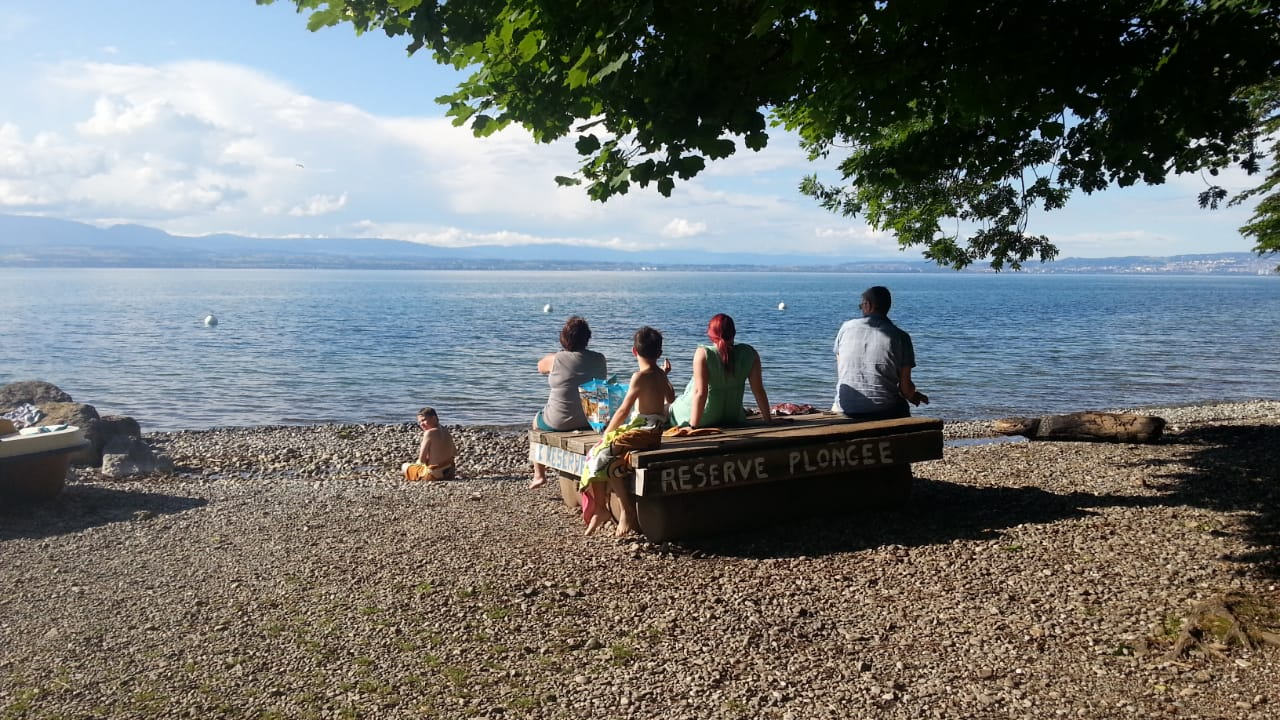 Letzter Abend am Genfer See