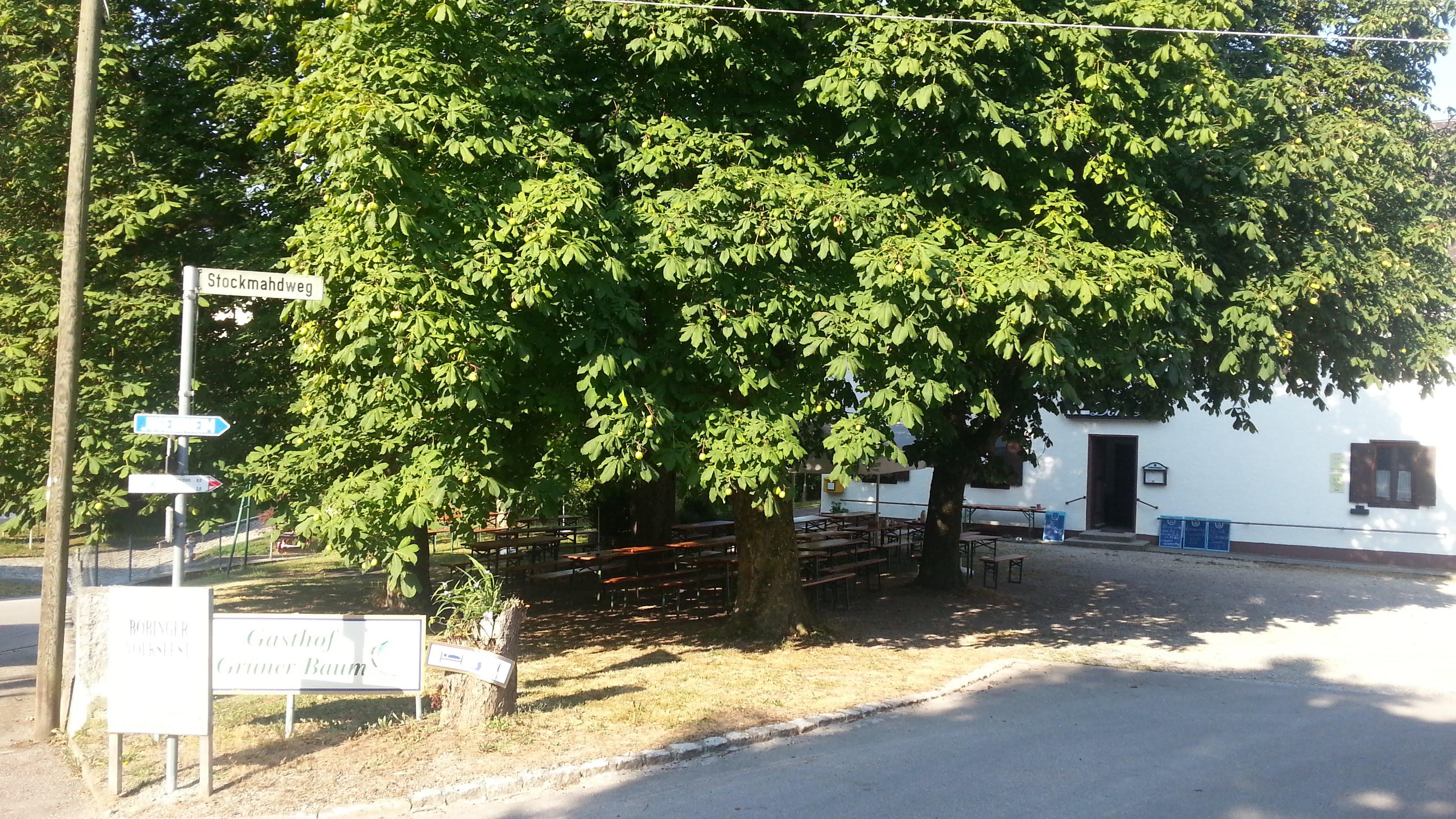 """Gasthof """"Grüner Baum"""" in Reinhartshofen"""