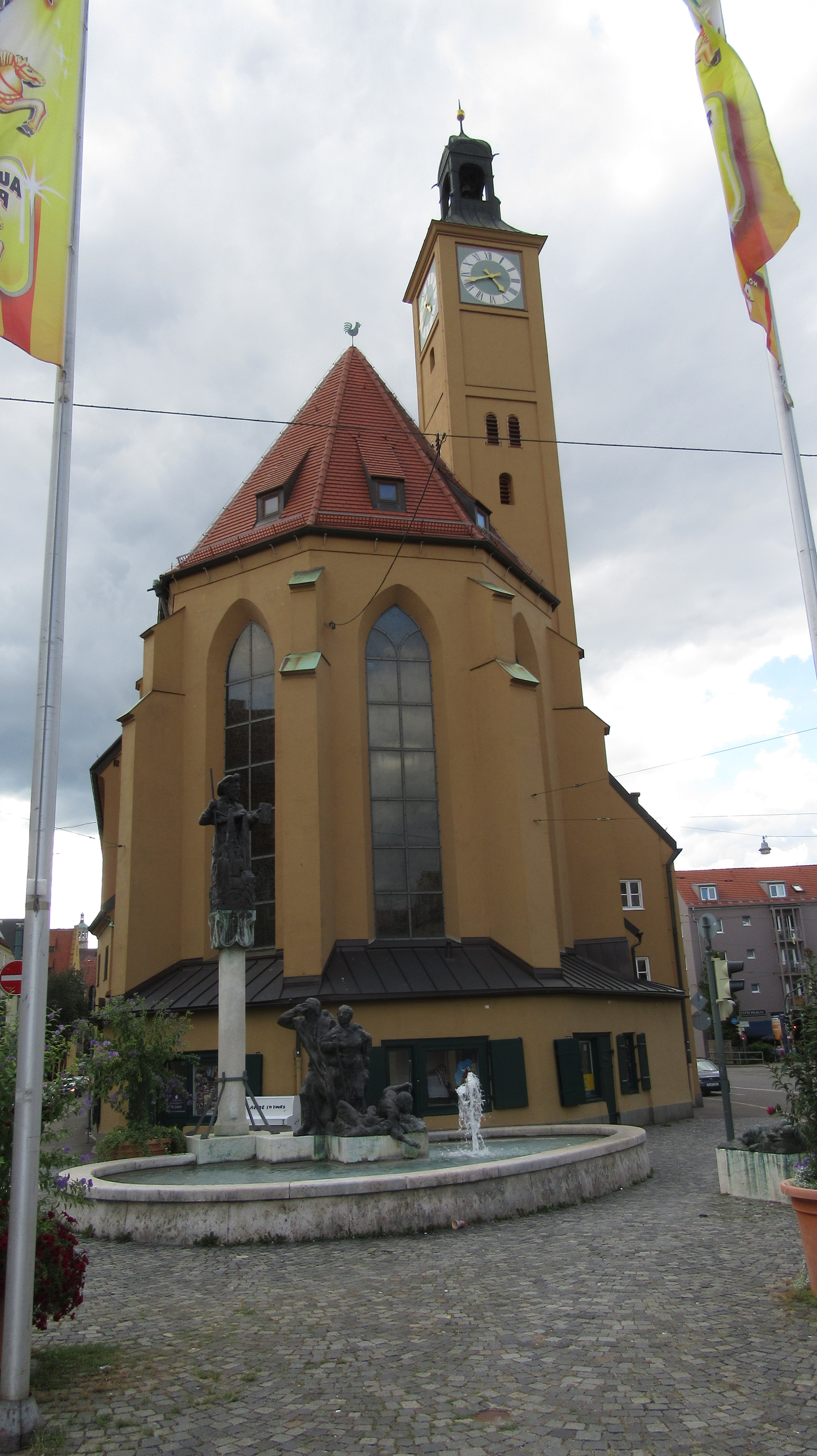 Kirche St. Jakob in Augsburg